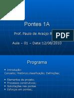 Pontes 1A Aula1 2015.1 Intro Historico Conceitos