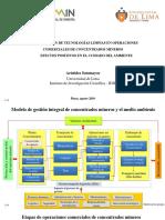 APLICACIÓN DE TECNOLOGÍAS LIMPIAS EN OPERACIONES COMERCIALES DE CONCENTRADOS MINEROS