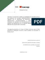 Investigación Programa Familias de Acogida (FAE) Sename 2016 - Maria Araya, Margarita Jorquera