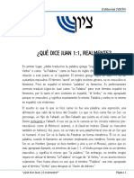 ¿Qué dice Juan 1;1 realmente.pdf