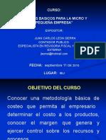Analisis de Costos en La Micro y Pequeña Empresa