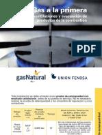 Ventilaciones en gas-natural