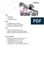 workout project