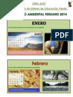 Calendario Ambiental Ong Alev 2014