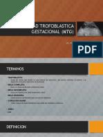 Enfermedad Trofoblastica Gestacional (Ntg)