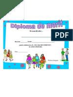 Prietenia Diploma