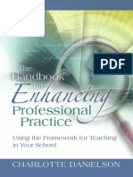 Danielson (2008). Enhancing for Professional Practice