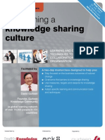 Establishing a Knowledge Sharing Culture