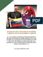 Ramos de Lora Visto Por El Novísimo Cardenal Porras Cardozo