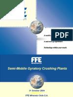 Semi-Mobile Gyratory Crushing Plants