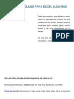 Atajos de Teclado Para E...e Excel Para Contadores