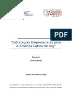 Estrategias Empresariales Para La América Latina de Hoy