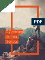 o Coaching Além Das Técnicas