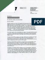 Greenbrier Bunker FOIA Appeal Response