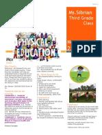 newsletter kin third grade copy