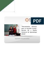 Decreto 83 y Diseño Universal de Aprendizaje DUA (1)