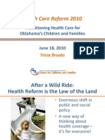 Transitioning Health Care for Oklahoma Children and Families