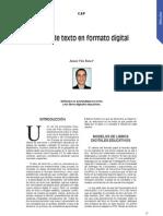 Libros de texto en formato digital