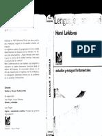 242295327 Lenguaje y Sociedad Henri Lefebvre PDF