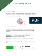 Guía de Fracciones y Números Mixtos