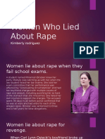Women Who Lied About Rape1