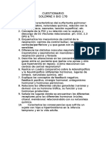 Cuestionario Solemne 2 Bio 178