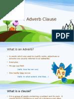 Adverb Clause Fidy-Wawan XI SCI 2