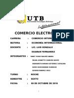 El Comercio Electronico Trabajo Exposición Final
