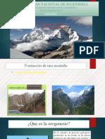Formación de Una Montaña Presentacion Final