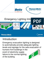 Emergency Lighting Introduction 1