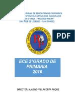 Modelo de Informe RE 2016