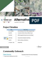 BL Centers Plan Alternatives