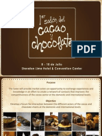 1st Cocoa and Chocolate Salon