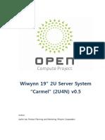 Open Compute Project Carmel 2U4N V0.5