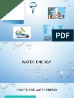 water energy presentation