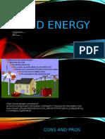 wind energy presentation