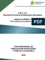 Capacitación Proyectos Fines 2016