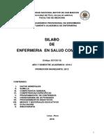 Silabo Enfermeria Salud Comunitaria 2016 i Eape Mg Arcaya 1