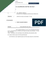 INFORME DE VIAJE  - UAP-TACNA