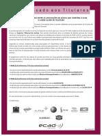 Comunicado Aos Titulares Acordo Rede Globo PDF