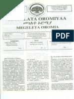 Constitution of Oromia Regional State (1995)