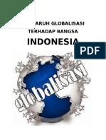 Pengaruh Globalisasi Terhadap Bangsa