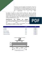 Modulo de Ruptura y Proceso Constructivo
