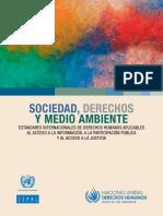 Cepal ONU Sociedad Derechos Medio Ambiente