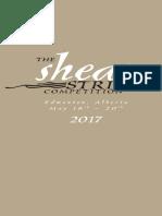 2017 Shean Strings Brochure English