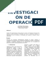 Investigación de Operación
