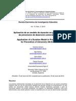 Aplicacion de Un Modelo de Duracion en Programas de Prevencion