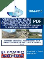 Plan Operativo Del Plan de Emergencia y Contingencia de La Espa