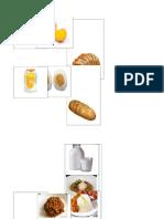 nominacion Alimentos