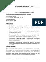 Programacion Latin i Distancia 2012-13